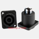 РазъемДинамика(Speaker Connector)SVP563S-M-WT-AG,25A,SILVER,4P Разъем Контакты с Покрытием из Серебро.