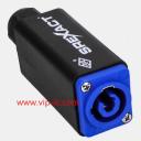 Разъем питания Силовые разъемы SVP593MA-BL-P,2+1,20A,на кабель,Вход