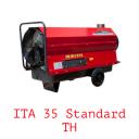Тепловая пушка непрямого нагрева на жидком топливе ITA 35 Standard TH