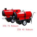 Тепловая пушка непрямого нагрева на жидком топливе ITA 75 Robust