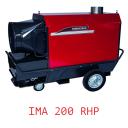 Тепловая пушка непрямого нагрева с надстроенной горелкой универсальная IMA 200 RHP