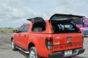 Кунг LUPOTOPS на Toyota HILUX VIGO (2008-2015), S1 STD Lift up Window