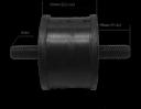 Подушка-амортизатор виброплиты 260 - 350 кг