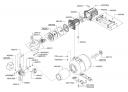 Фланец двигателя мотопомпы Al-Co HW 601 (рис.460154)