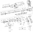 Комплект щеток для перфоратора Defort DRH-620N-K