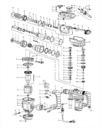 Комплект щеток для перфоратора Defort DRH-1500N-K