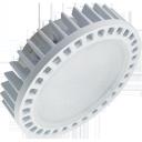 Светодиодная лампа Ecola GX53 15W 2800K 2K 27x75 матов.ое стекло алюм. Premium (T5FW15ELC )