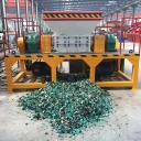 Машина для измельчения металла из Китая Производитель Двойной вал для отходов Металлорежущий станок