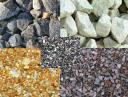 Продажа щебня, песка, грунта и бетона.