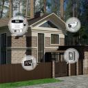 Установка охранных GSM сигнализаций