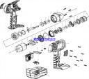 Центральная ось аккумуляторного  гайковерта ЗГУА-18-Ли К (рис.16)