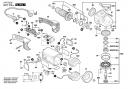 УПЛОТНИТЕЛЬНОЕ КОЛЬЦОЧЕРНЫЙ болгарки Bosch PWS 2000-230 JE (рис.837)
