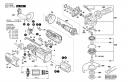 Статор220-240V болгарки GWS 1000 (рис.2)