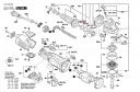 Комплект зубчатых колес болгарки Bosch GWS 19-125 CIST (рис.838)