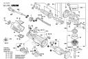 Винт с головкой torx 4x12 Torx Oval-Head Screw 4x12 эксцентриковой шлифмашины Bosch PEX 400 AE (3603CA4000) (рис.18)