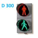 Светофор светодиодный пешеходный (Д=300 мм)