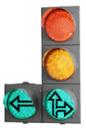 Светофор светодиодный транспортный (Д=200 мм) + 1 доп. секция (стрелка вправо или влево) с ТООВ
