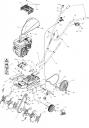 Фреза внутренняя культиватора Pubert MB 87 L (рис.19)