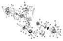 Воздушный фильтр триммера Bolens BL100 (рис 2)