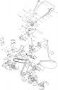 Ручка газа с тросом культиватора Elitech КБ 492К (рис. 1)