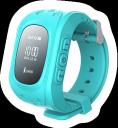 Умные детские часы с GPS Q50 Smart Baby Watch Голубой