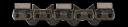 Алмазная цепь для твердого и армированного бетона для бензопилы ICS Force 3 Premium (30 см)