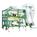 Комбинированный пневмо-гравитационный зерноочиститель зерна