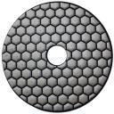 Гибкий полировальный круг АГШК д. 100 мм №100 (сухая)