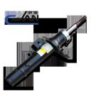 Амортизатор передний PEUGEOT M33,M44