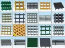 Решетчатые конструкции FRP мелкосетчатые