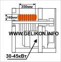 Станок многопильный дисковый до 10 пил СМ-160-3 (электродвигатель 45 кВт)