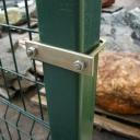 Хомуты(скобы) для крепления сварной сетки к столбу 60х60,50х50