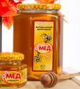 мёд натуральный фасованный Липовый 250 гр. в ст/б