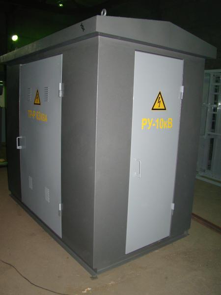 Трансформаторные подстанции контейнерного исполнения
