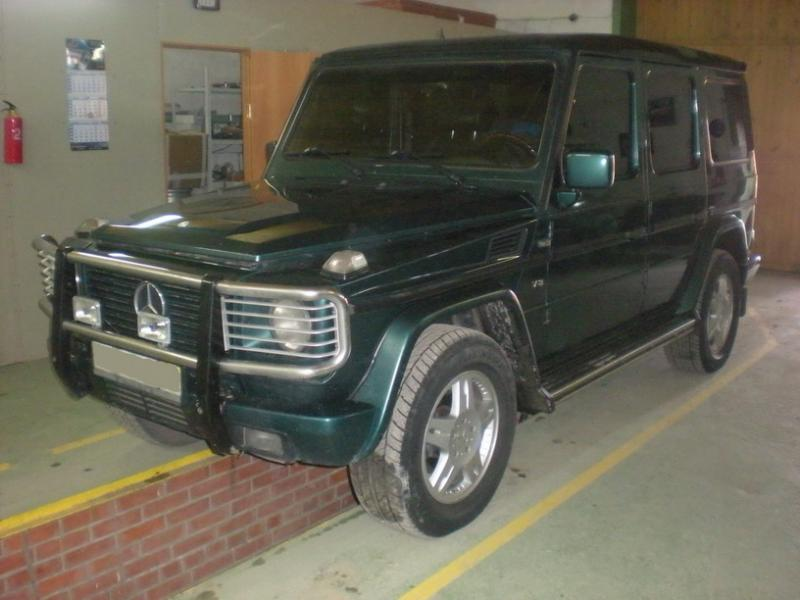 Mercedes G-500, ГБО Digitronic DGI 3D Power Evolution