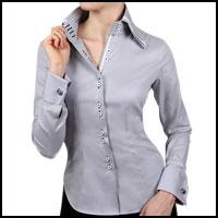 Купить Женскую Блузку С Запонками