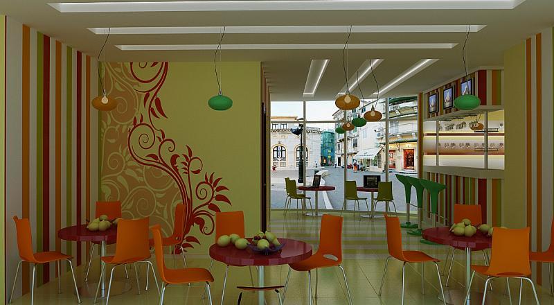 Дизайн интерьера кафе фото