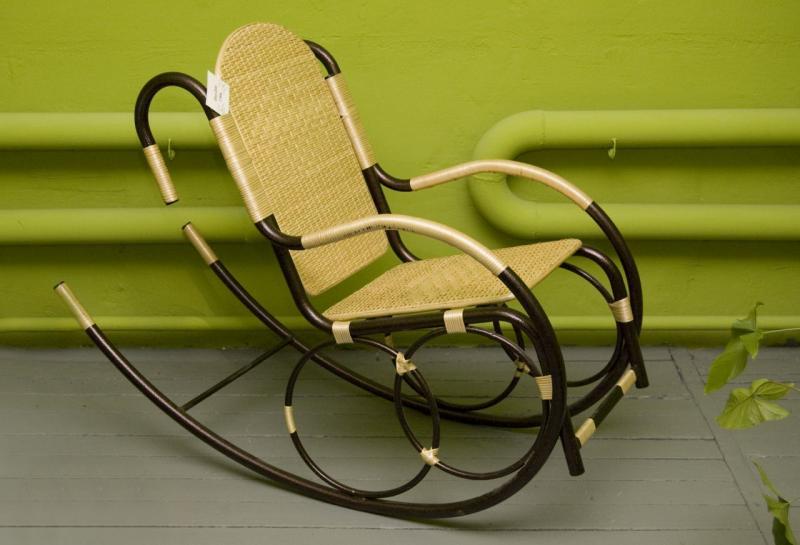 Кресло-качалка сделать своими руками из металла 39