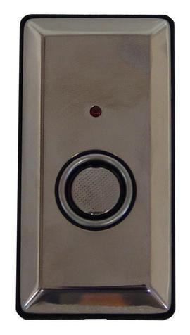 """Считыватель-3 исп.01 Монтажная площадка под  """"Touch Memory """", черная, двухцветный светодиод."""