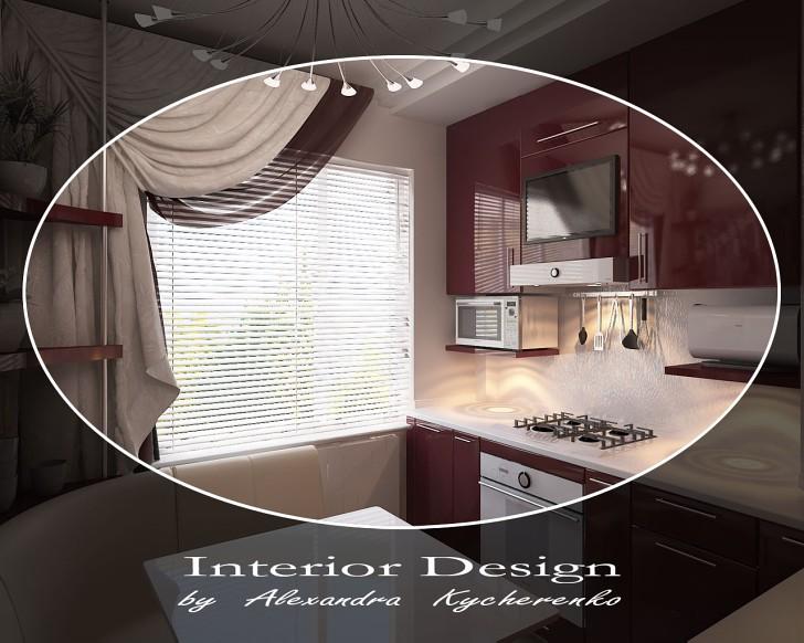 Показать дизайн кухни