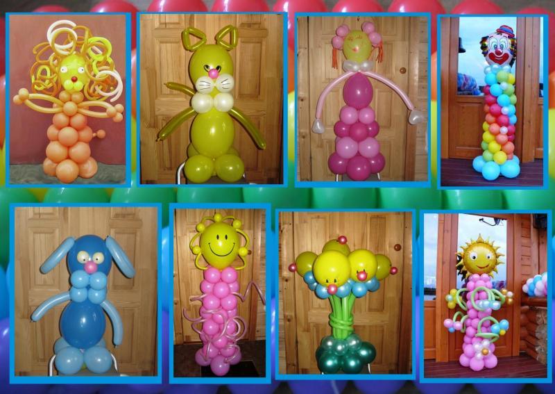 Фигуры из шаров своим руками 846