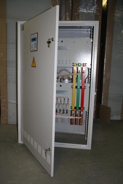 Автоматическая конденсаторная установка АКУ(КРМ,УКМ58)-0.4-850-50 УХЛ1 IP54 c принудительной вентиляцией и обогревом.