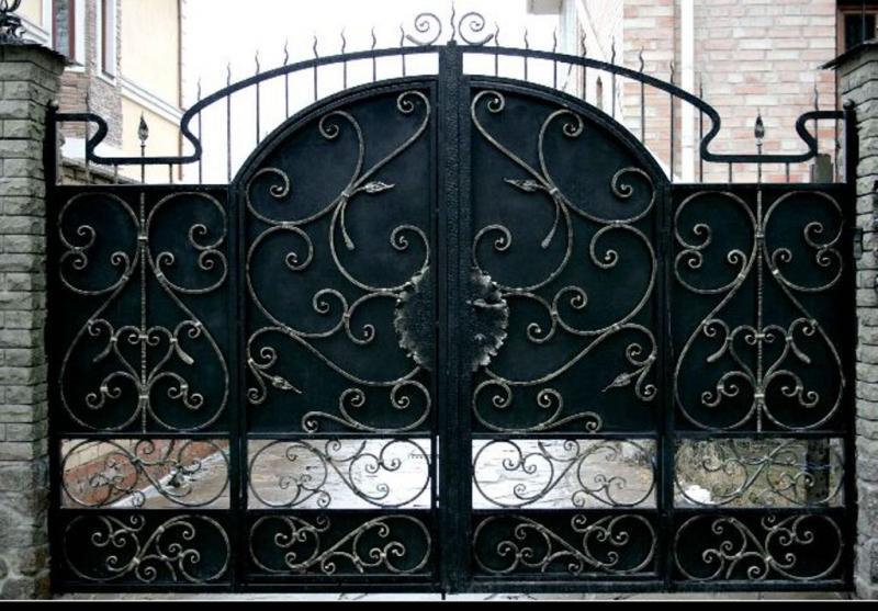 Кованные ворота чехов подольск