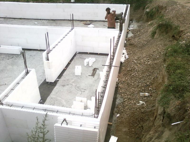 Монолитное строительство домов по технологии ТЁПЛЫЙ ДОМ под ключ