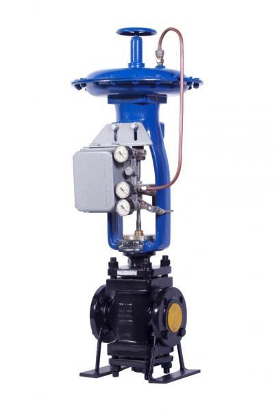 Клапан регулирующий сильфонный, с пневмоприводом МИМ 400-112-154061