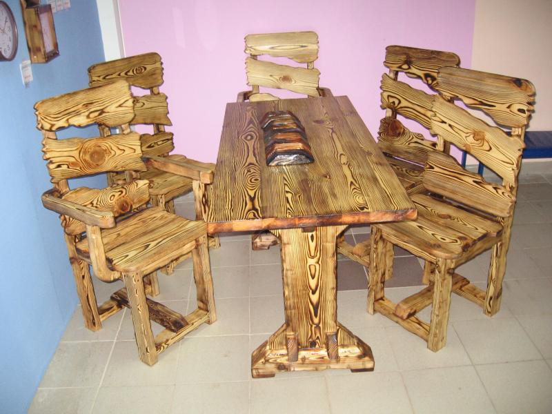 Лавки и стулья своими руками
