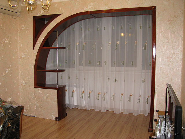 Арочная дверь своими руками фото