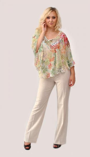 Цельнокройная блузка доставка