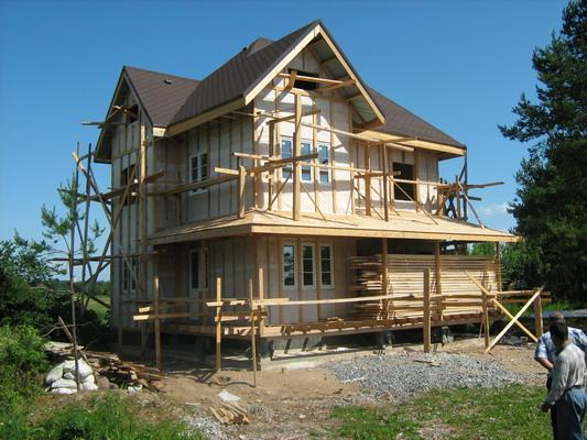 Каркасные дома под ключ по финской технологии. Загородное