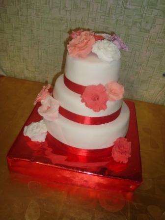 Свадебные торты на заказ в уфе